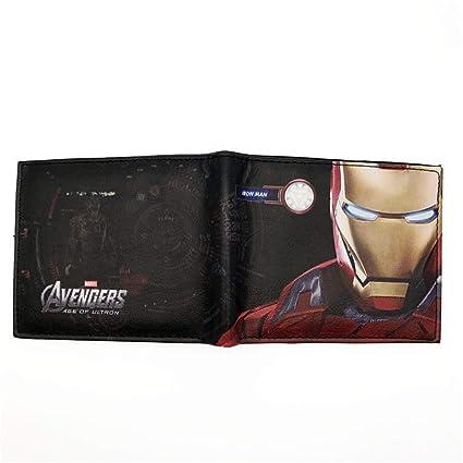 HAIGAFEW Billetera Corta,Monedero Corto Avengers Hero Iron ...