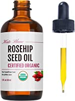 Rosehip Seed Oil by Kate Blanc. USDA Certified Organic, 100% Pure,