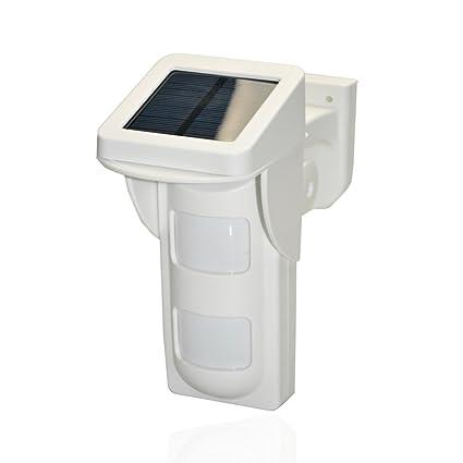 SAFEPRINT 2home ® alta calidad exterior solar Detector de movimiento inmune para Juego de alarma Safe