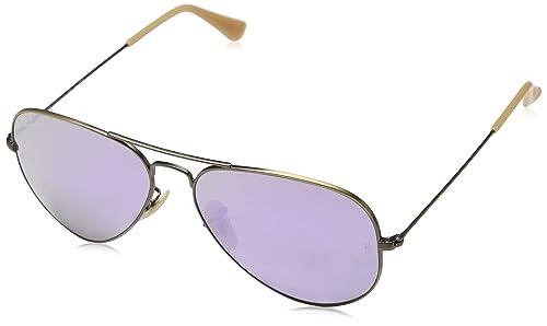 Amazon.com: Ray-Ban - Gafas de sol de aviador unisex para ...
