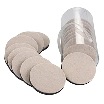 16PCS Furniture Sliders 3.5 Inch Felt Sliders Furniture Moving Pads For Hardwood  Floors And Other Hard