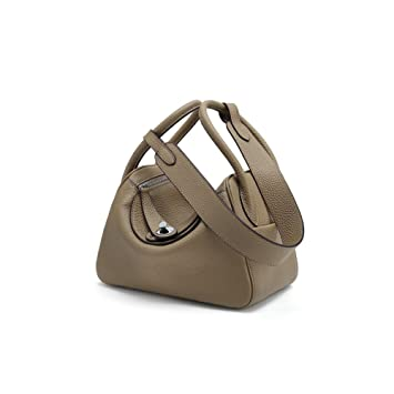 6d5f291f3 YXLONG New Leather Handbags Lindy Bag Lychee Pattern Medicine Box Doctor  Baotou Layer Leather Shoulder Portable
