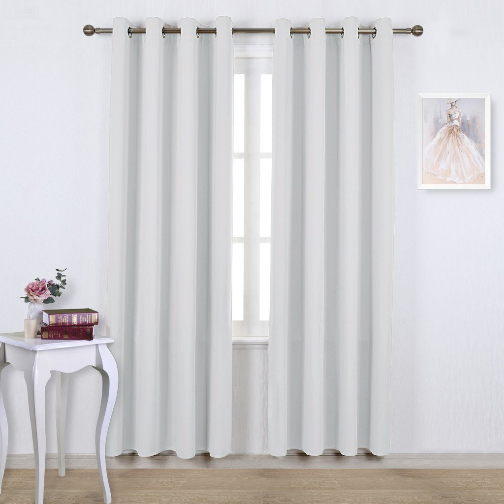 essentials panel panels crinkle room sheer products pin curtain white snow