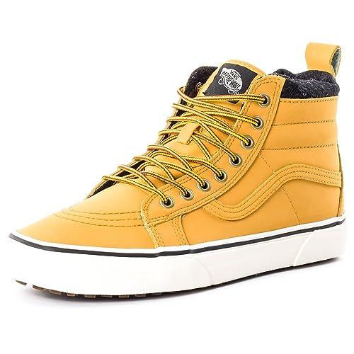 Zapatillas Vans SK8-HI MTE de piel para hombre, en color miel, talla 39: Amazon.es: Zapatos y complementos