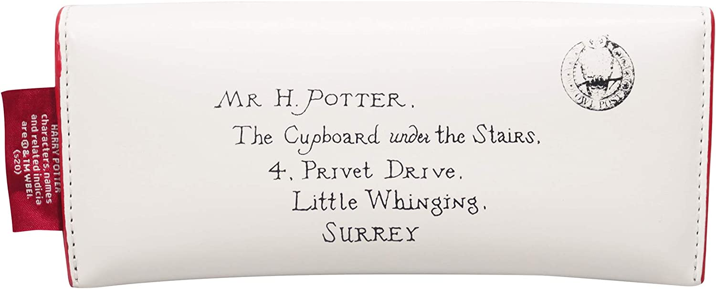 Custodia per occhiali con lettere Harry Potter