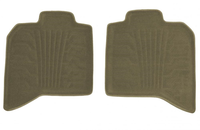 Set of 2 Lund 783078-T Catch-It Carpet Tan Rear Seat Floor Mat