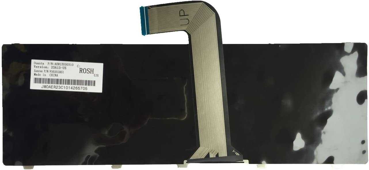 X38K3 0X38K3 KFRTBA209A AER01U00110 90.4IC07.A01 PK130OF4A00 A209 KFRTM9 X38K3 AER01U00010 NSK-DX0SQ 01 US Layout Black Color New Laptop Keyboard for Dell PN