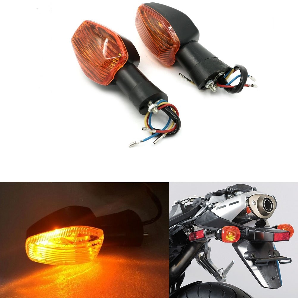 Orange Front Rear Turn Signals Blinker Indicator Light 3 wires For Honda CBR600RR F5 03-06 CBR929 00-01 CBR954 02-03 CBR1000RR 04-07