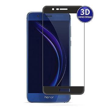 X-Dision Huawei Honor 8 Pro (Negro) Película Protectora 3D ...