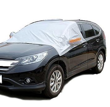 Amazon.es: ABY impermeable coche parabrisas sol/capa de nieve Shield polvo protector Cover para más Cars- cubre parabrisas limpiaparabrisas, Y Espejos