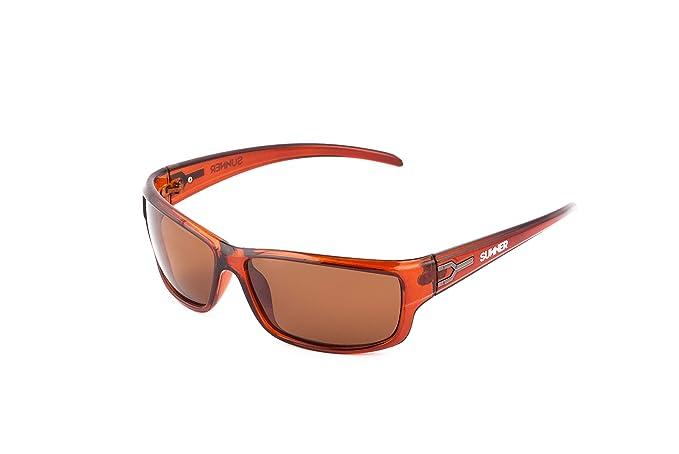 Sunner Gafas de Sol Para Hombre y Mujer Protección UV400 SUP503 Lentes Polarizadas Montura Ligera Resistente