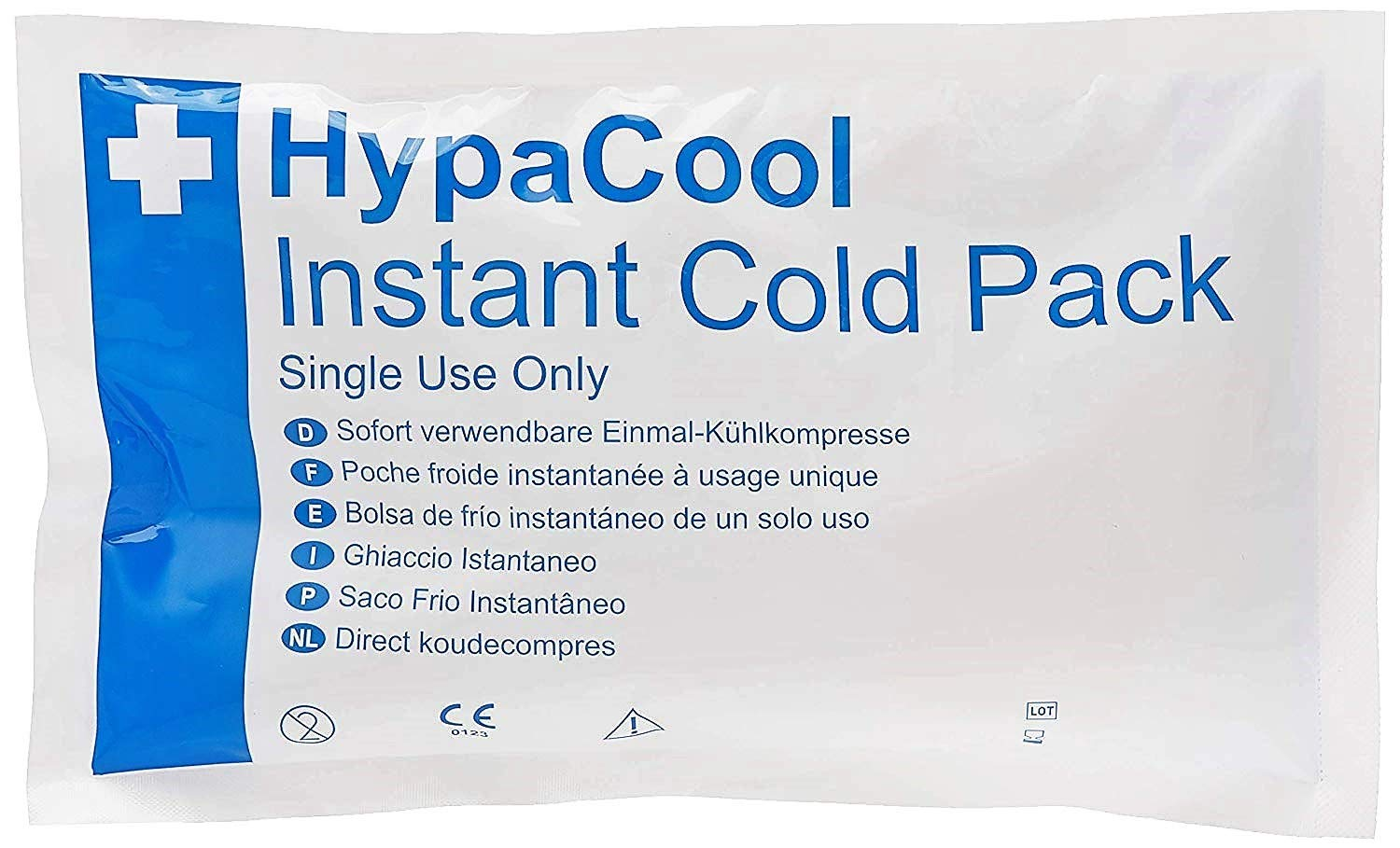 Amazon.com: Pack of 12 HypaCool Instant Cold Ice Pack Single ...