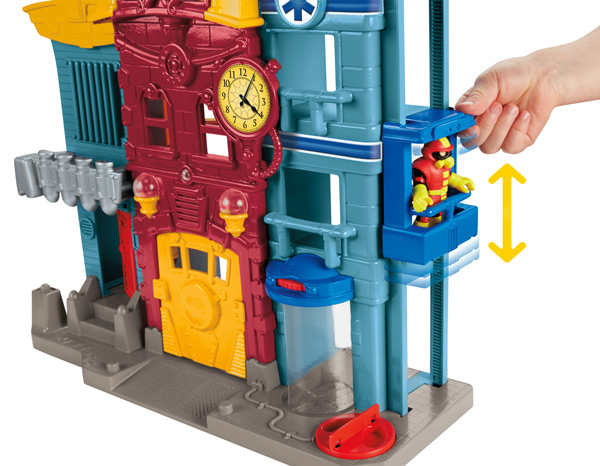 Amazon.com: Fisher-Price Imaginext Rescue City Center