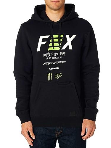 Fox Pro Circuit Po Fleece Sudadera con Capucha Negro: Amazon.es: Ropa y accesorios