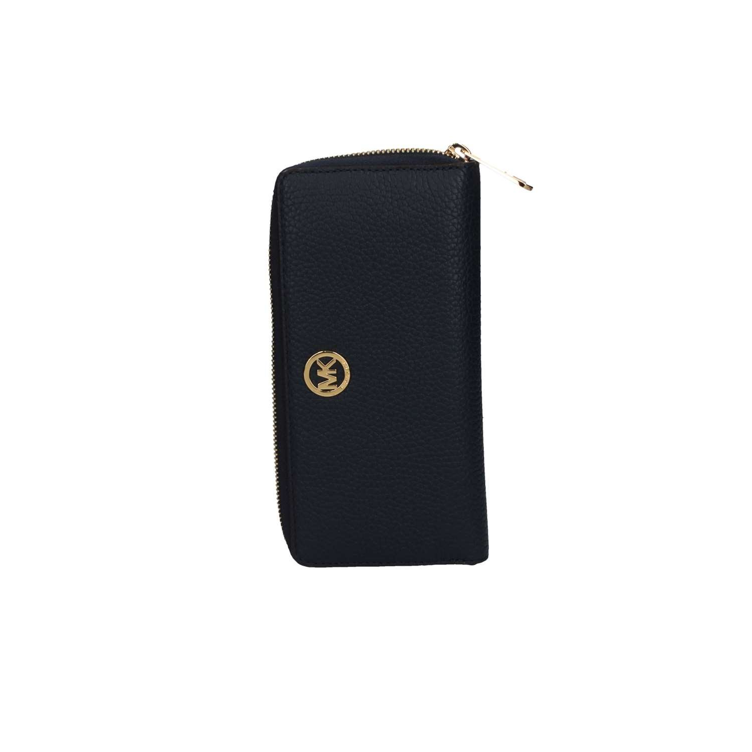 Michael Kors ZA Continental Fulton Clutch Wallet with Gift Box (Navy)