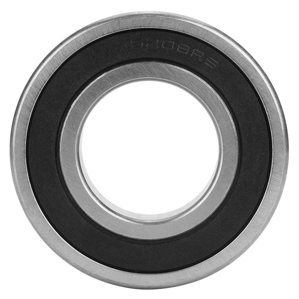 Akozon Roulement /à Billes Double Joint En Caoutchouc Roulement Profond 6198-2RS 40x80x18 Mm 5pcs