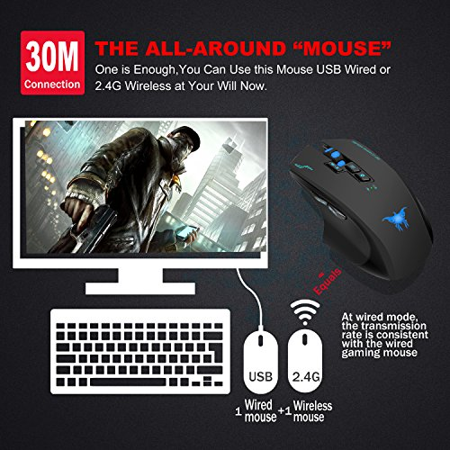 61m7K8JnGDL - Hotyet-Rechargeable-Laptop-Wireless-Mouse-2in1-Wired-Wireless-Optical-Computer-PC-Gaming-Macbook-mice-with-USB24GHz2400-DPI-4-Levels8-Buttons3-Colors-Lights