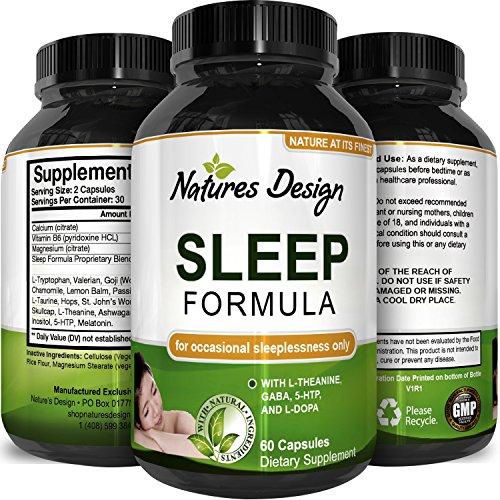 Best Natural Revitalizing Sleep Formula