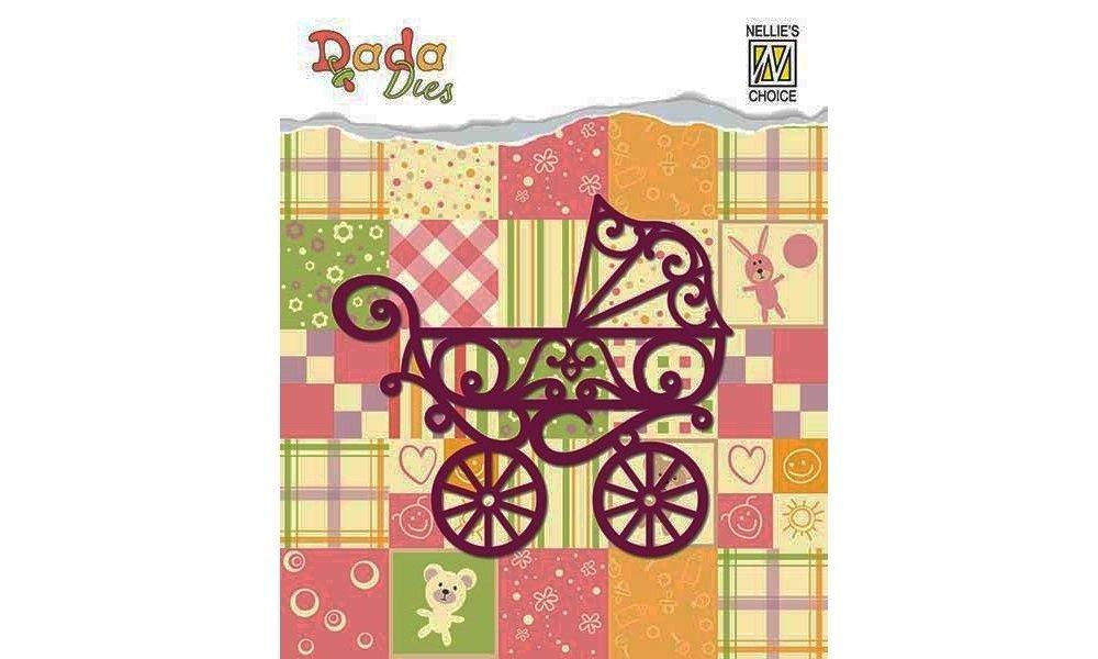 Kinderwagen Stanz- und Prägeschablone DADA Baby serie