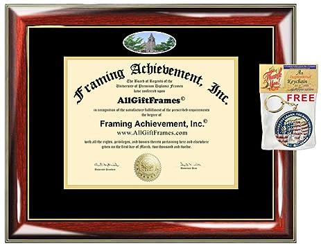 Amazon.com : University of Colorado Denver Diploma Frame School ...