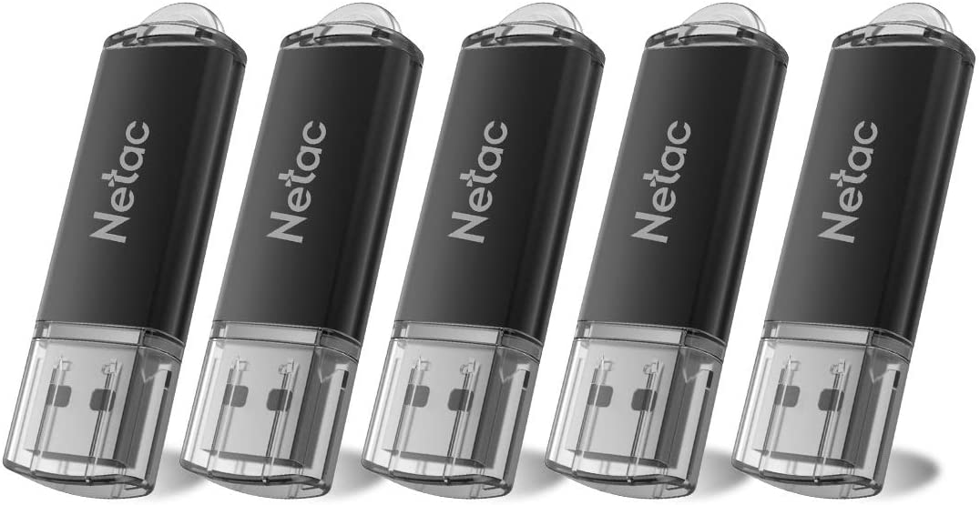 USB Flash Drive 8GB x 5 - USB 2.0 Interface Digital, Thumb Drive with Indicative Light, Compatible with Computer/Laptop/External Memory Storage, Stick Jump Drive for Photo/Video Backup - G358