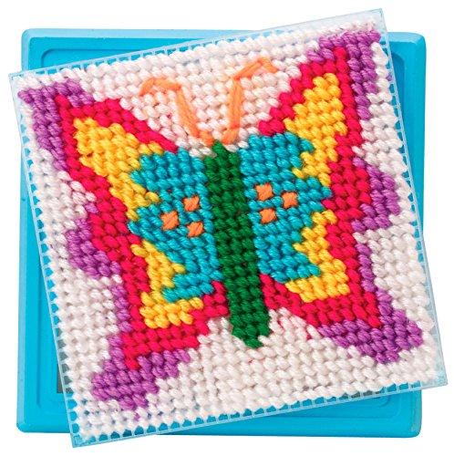 61m7LoMVEmL - ALEX Toys Craft Simply Needlepoint - Butterfly