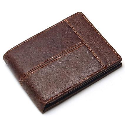 Yamyannie Crédito Tarjetas Billetera Billetera para Hombre ...
