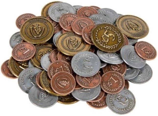 Scythe: Metal monedas adicional , color/modelo surtido: Amazon.es: Juguetes y juegos