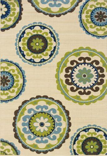 Oriental Weavers 859J6 Caspian Outdoor/Indoor Area Rug