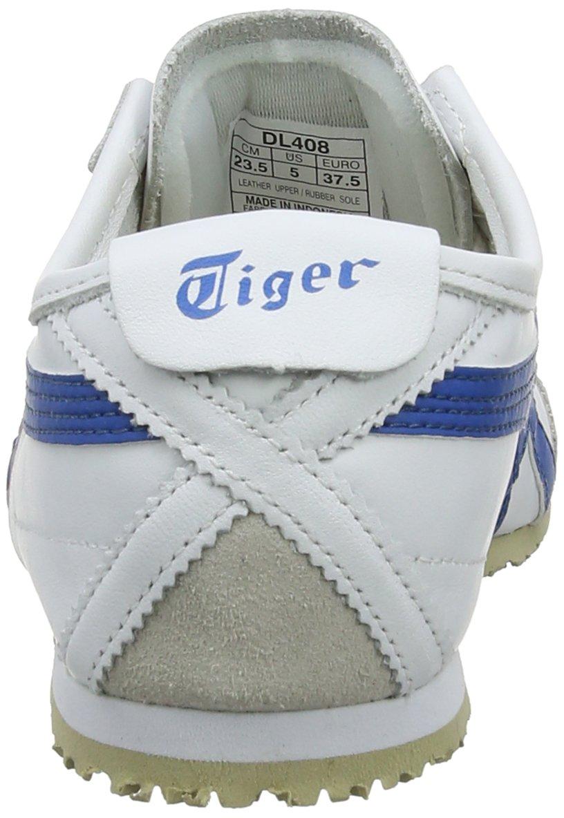 Asics 66 Unisex-Erwachsene Onitsuka Tiger Mexico 66 Asics Fitnessschuhe, Weiß (Weiß/Blau 0146) 808329