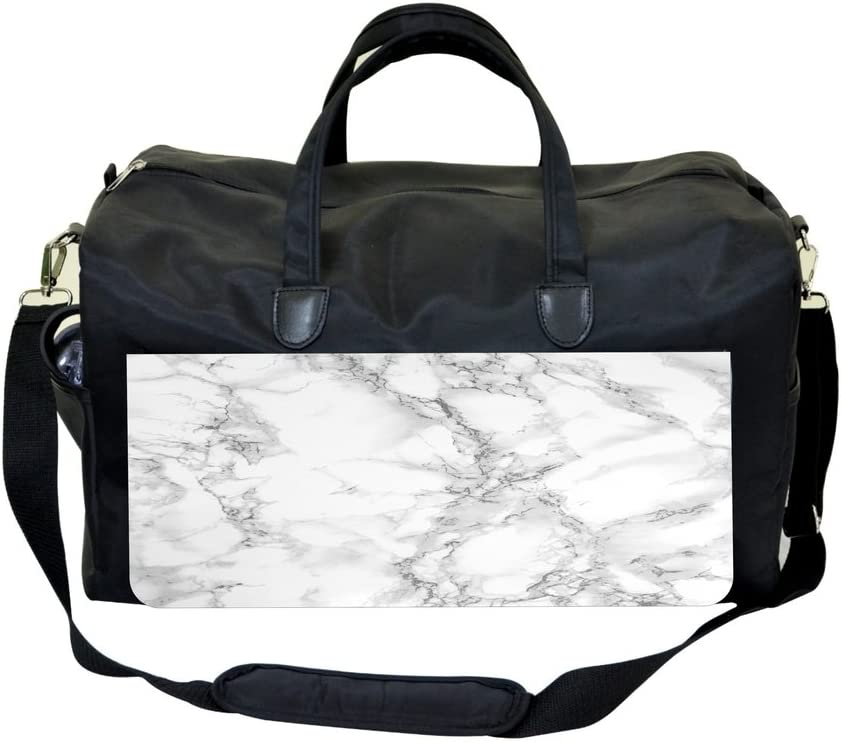 Jacks Outlet Marble Print Sports Bag