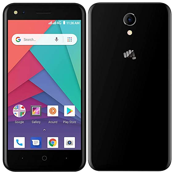 newest collection 09131 537a3 Bharat MICROMAX Q437 3 (Jet Black)