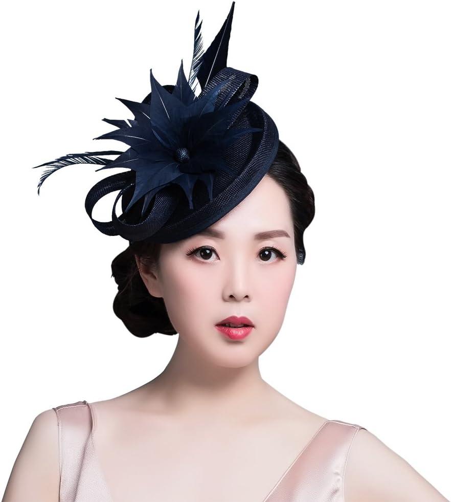 Or Rose Argent Sequin Chapeau Bibi Coiffe Pince Cheveux Mariage Vintage 2719