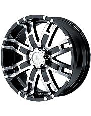"Helo HE835 Gloss Black Machined Wheel - (18x9""/6x5.5"")"