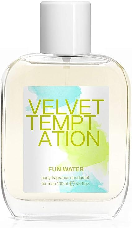 Fun Water Velvet Temptation - Desodorante para mujer (100 ml, pack ...