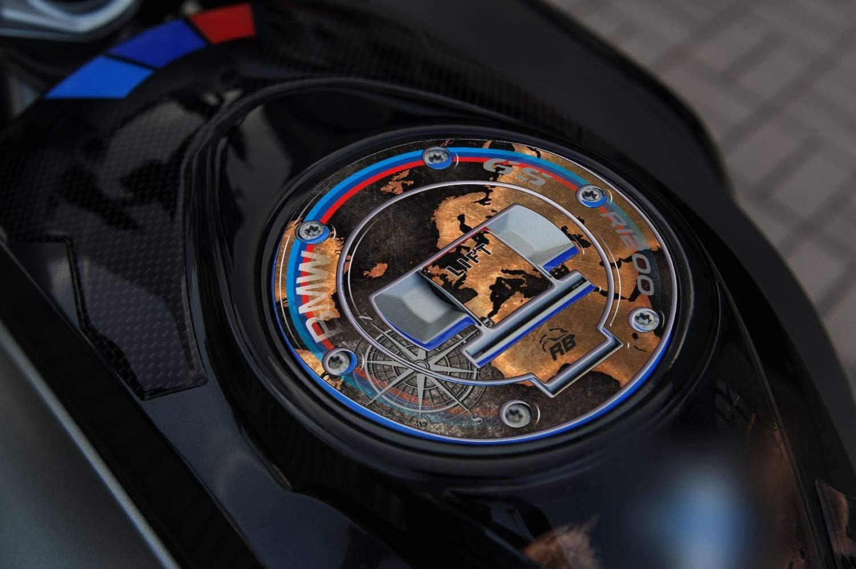 Adhesivo 3D Protecci/ón Tap/ón 05 Compatible con BMW GS R 1200 2013-2016