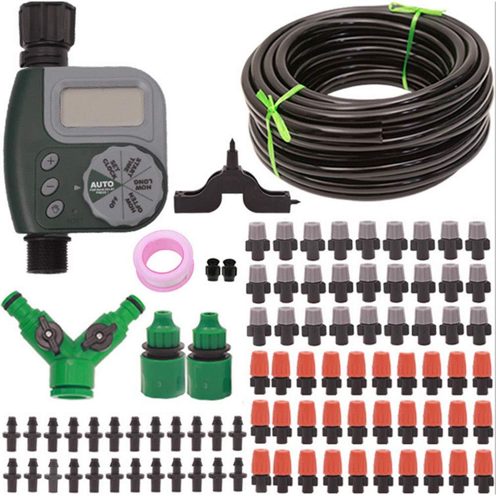 インテリジェント灌漑コントローラホーム自動散水装置自動タイマー散水セットセット霧化冷却 B07RNBS7TP