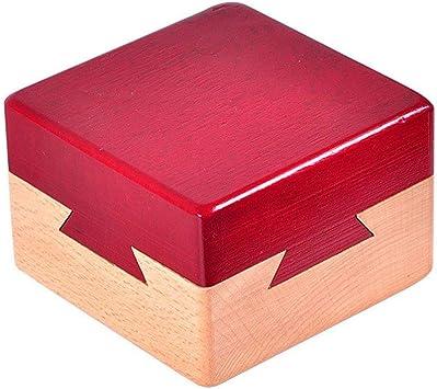 Amasawa Caja de Rompecabezas de Madera,Caja de Juguetes Creativa ...