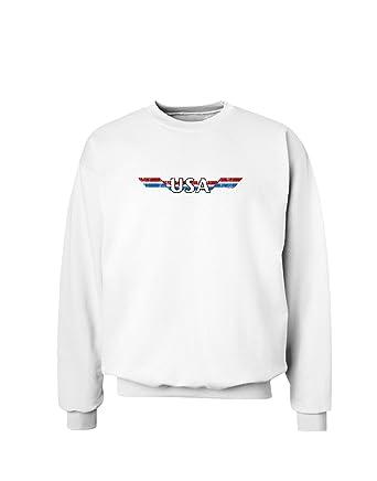 Amazon.com  USA Stripes Vintage Sweatshirt  Clothing 035b383ac