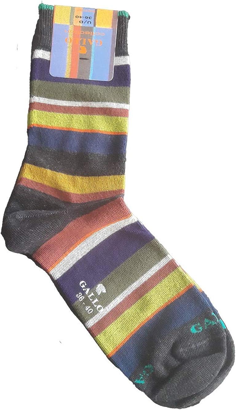 Gallo calze corte donna multiriga taglia unica 36-40 ld1984c