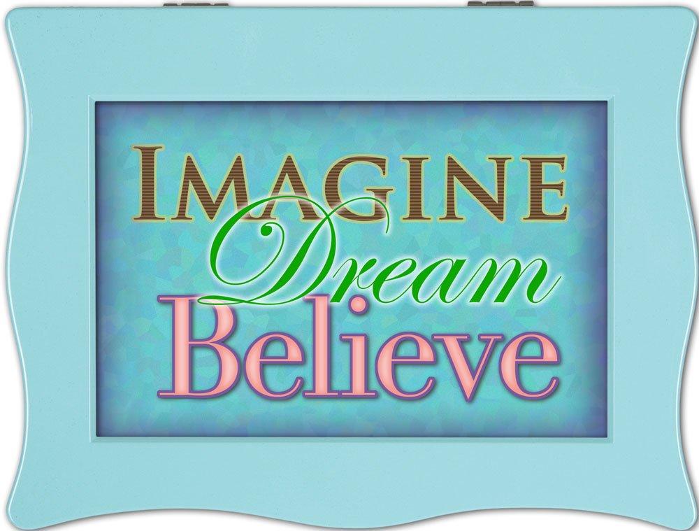 【予約受付中】 Cottage B00BRX29YE Garden Imagine Aqua Digital Music Imagine Box Believin'/ Jewellery Box Plays Don'T Stop Believin' B00BRX29YE, 増田町:e2d9569b --- svecha37.ru