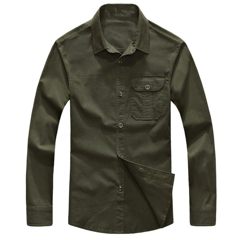 Men 's Long Sleeve Shirt Multi - Color Multi - Size