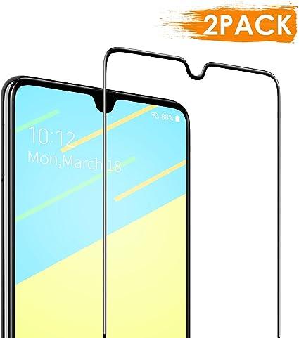 DEKOLY Protector de Pantalla para Samsung Galaxy A70 Vidrio Templado [2-Pack] [Alta Definición] [Anti-rasguños] Samsung A70 Película Protectora con Herramientas: Amazon.es: Electrónica