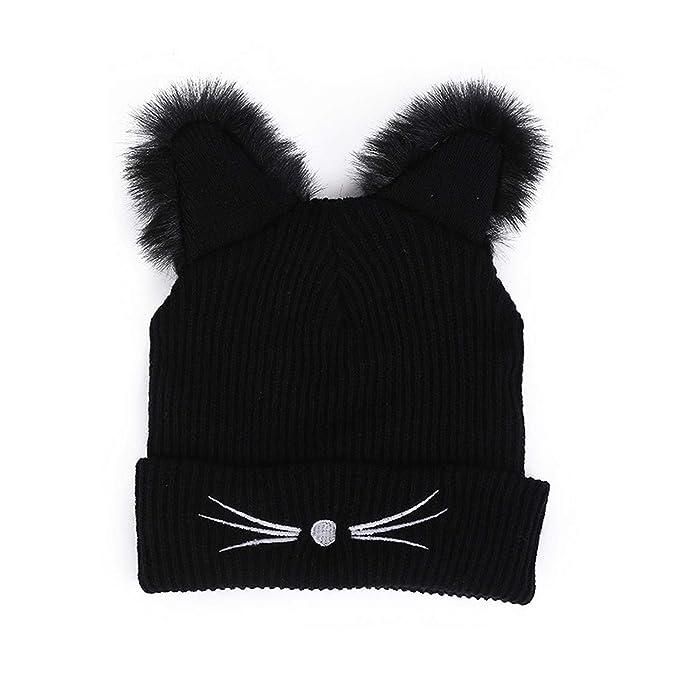 Beauty gorro invierno de punto gato oreja mujer sombreros beanie gorras  navideño ropa accesorios jpg 679x679 fbe7203f60a