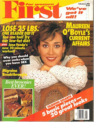 First for Women Magazine (February 1, 1993)