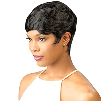 Short Curly Wigs for Black Women Pixie Cut Wig Short Sexy Wigs Curly  Synthetic Hair wigs 01d3a91bb