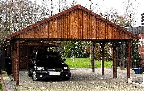 CarPort - Porche para coches de 600 cm x 600 cm: Amazon.es ...