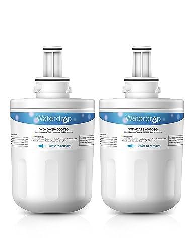samsung aqua pure plus filter. Waterdrop Compatible Samsung DA29-00003G Aqua Pure Plus HAFIN Fridge Freezer Ice \u0026 Water Filter