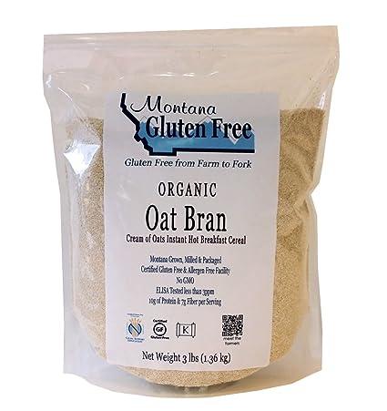 Montana sin gluten Orgánica avena – Bran/libra Crema de ...