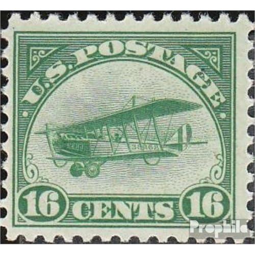Etats-Unis 249 1918 Postfluglinie-NewYork-philadelphia- (Timbres pour les collectionneurs)